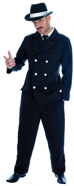 Vintage Gangster Boss Plus Size Costume